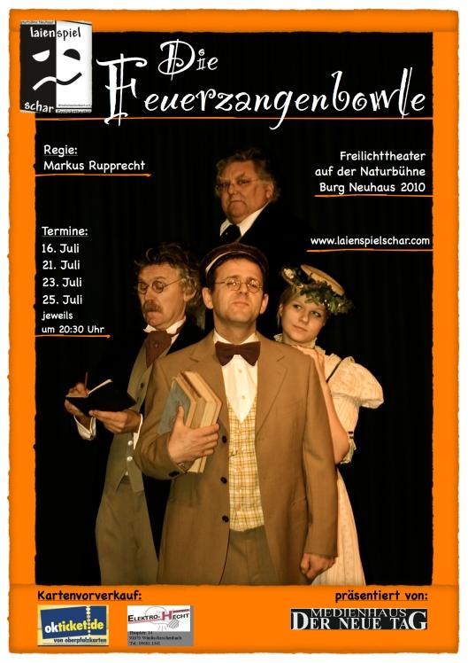 Plakat Fuerzangenbowle